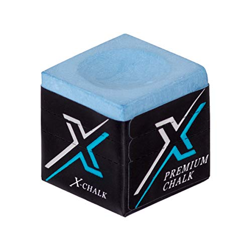 Exceed X-Chalk Billardqueue Billardkreide, Blau, 1 Stück
