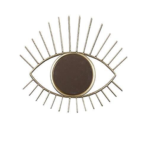 LHY DECORATION Wall Hanging Eye Specchio, Specchio di Trucco, Specchio del Bagno, Scultura da Parete per la Decorazione Domestica
