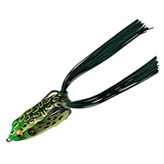 PAD CRASHER TECHNIQUE: Hollow-body frog perfect for throwing in the slop and weeds BODY CONSTRUCTION: Body is structured enough to keep the bait 100% weedless to come over and across sloppy weedbeds, yet soft enough to ensure a solid hookset with a b...