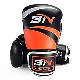 LUCHONG Sanda - Guantes de boxeo para adultos (8/10/12 onzas) para Taekwondo,...