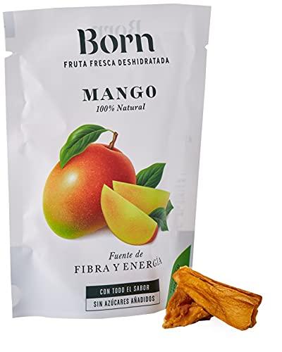 Born Mango - Fruta Deshidratada Ecológica - Vegetariano, Vegano, Paleo, sin Gluten, sin Lactosa,...