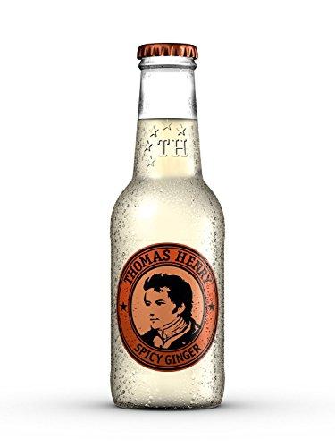 6 Flaschen Thomas Henry Spicy Ginger a 200ml inc.0,90€ MEHRWEG Pfand