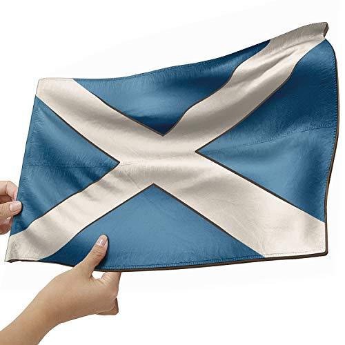 Schottland Flagge als Lampe aus Holz - schenke deine individuelle Schottland Fahne - kreativer Dekoartikel aus Echtholz