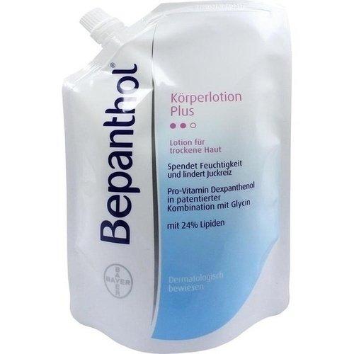 Bepanthol Plus Körperlotion Nachfüllbeutel, 400 ml