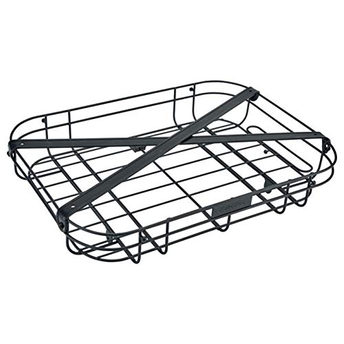 Electra Bicycle Electra Fahrradkorb Wired Basket Front Tray, schwarz, 55096