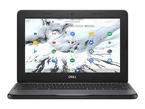 "Dell Chromebook 11 3000 3100 11.6"" Chromebook - 1366 x 768 - Celeron N4020 - 4 GB RAM - 16 GB Flash Memory - Chrome OS - Intel HD Graphics - English (US) Keyboard - Bluetooth - 14 Hour Battery Ru"