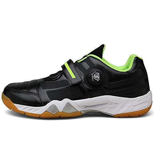 Zapatillas de bádminton Pingpong, suaves Zapatillas de ciclismo de carretera antideslizantes y...