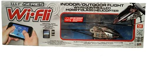 alta calidad Wi - Fli Fli Fli Indoor   Outdoor Hobby Helicopter by WI-FI SERIES  autorización oficial