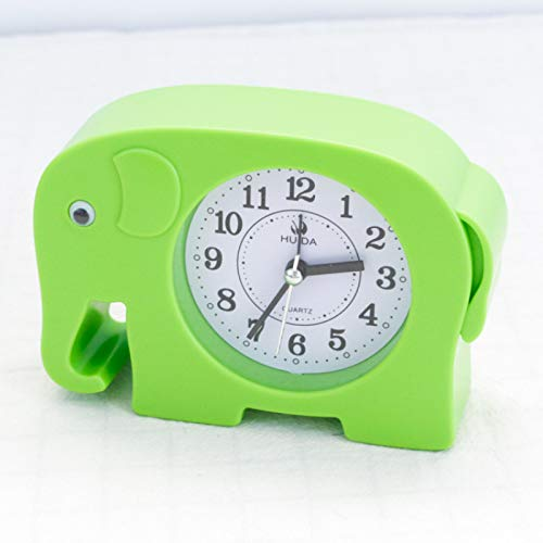 GYHJG Cartoon Dier Kleine Wekker Mode Persoonlijkheid Alarm Horloge Leuke Slaapkamer Nachtkastje Elektronische Klok Huis/Keuken/Kantoor/School Klok
