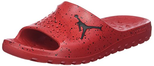 Nike Jordan Super.Fly Team Slide, Zapatos de Baloncesto Hombre, Rojo (University Red/Black/Black 611), 49.5 EU
