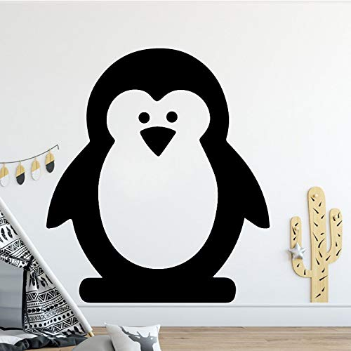 yaonuli cartoon pinguïn vinyl muursticker jongen kamerdecoratie afneembare sticker decoratie