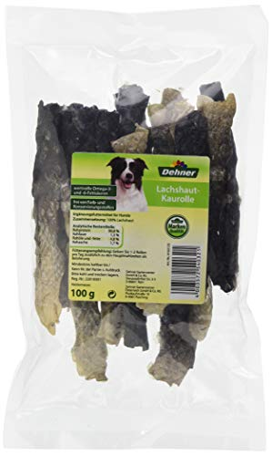 Dehner Hundesnack, Lachshautrolle, 100 gm
