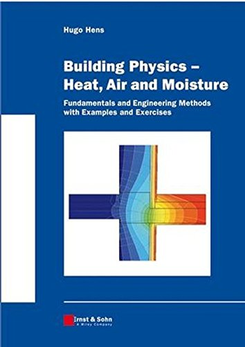 Building Physics -- Heat, Air and Moisture: Fundamentals and Engineering Methods with Examples and E