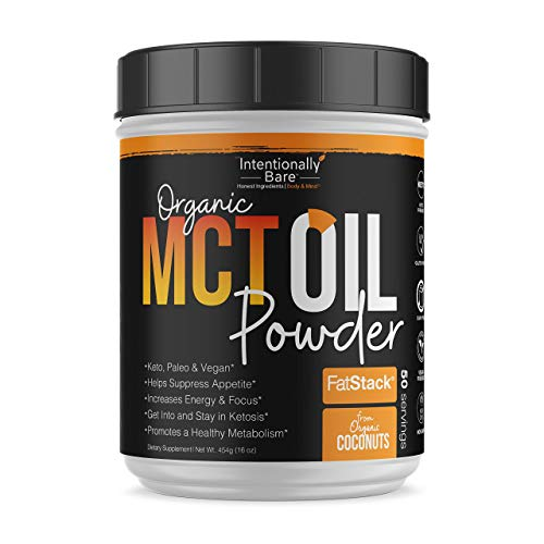 Intentionally Bare MCT Oil Bundle – Organic – High C8 Caprylic Acid - Home and Away - Appetite Suppressant, Metabolism Boosting, Helps with Intermittent Fasting and Ketosis 6