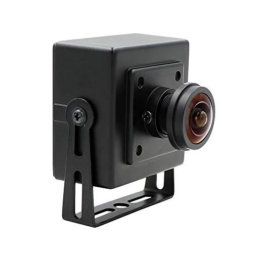 2MP Full HD 1080p 180degree fisheye wide view angle webcam OV2710 mini case OTG UVC usb camera for Android Linux Windows Mac