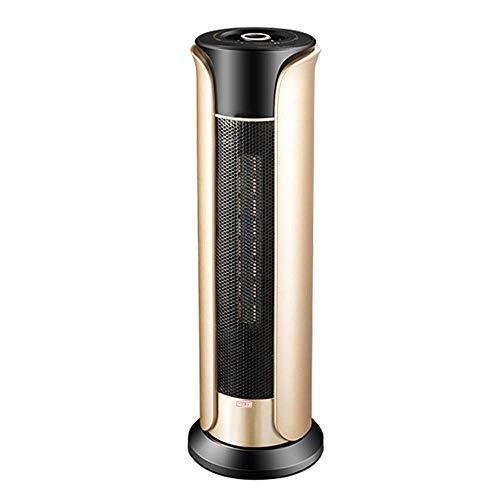 YWAWJ Calefactor, Calentador de Espacio - Cerámica Forzado del Ventilador de calefacción con Estancia de Vivienda Cool - Sobrecalentamiento & Tip-Over Protection & Carry Handle