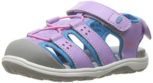 See Kai Run Girls' Lincoln II Lavender Water Shoe, 9 M US Toddler