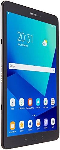 SAMSUNG SM-T820NZKAMXO Tableta Galaxy Tab S3, Qualcomm Snapdragon 2.8 GHz, 4 GB, 32 GB Interno, Android 7.0, Color Negro