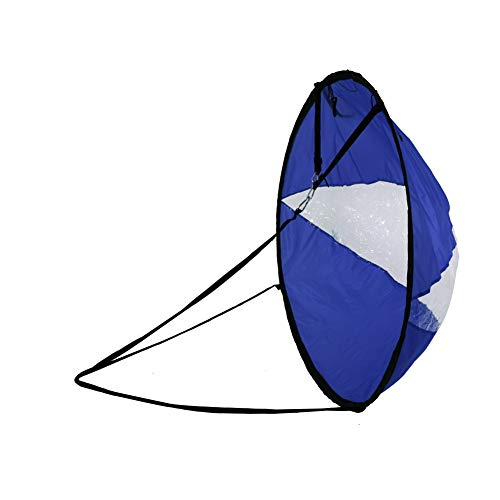 "Sizet WindPaddle Scout Sail, 42.5"" Foldable Durable Kayak Sail Paddle"