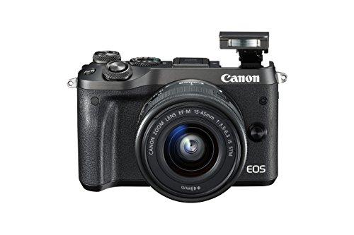 Canon M6 - Cámara sin Espejo, Color Negro