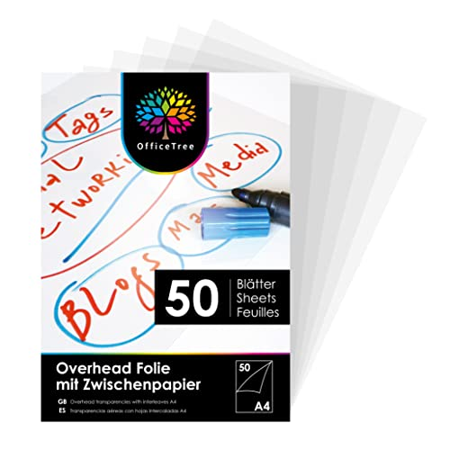 OfficeTree OfficeTree 50 Blatt Overheadfolie A4 Bild