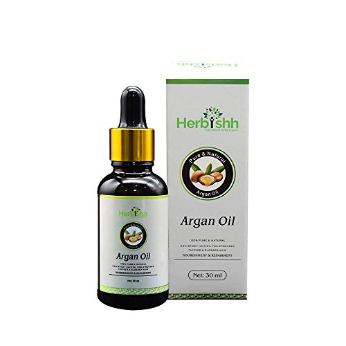 Amazing 100% Organic Argan Oil, Pure Moroccan Argan Oil for Skin & Hair, Repair Damaged Hair, Deep Nourish Anti-UV-30ML
