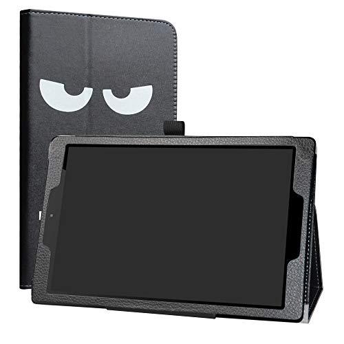 Labanema Odys ACE 10 und Maven G10 Hülle, Slim Fit Folio PU Leder dünne Kunstleder Schutzhülle Cover Schale Etui Tasche für Odys ACE 10 und Maven G10 10,1 Zoll Tablet - Don't Touch