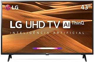 Smart TV LED 43 UHD 4K LG 43UM7300 ThinQ AI HDR Ativo WebOS 4.5 DTS Virtual X