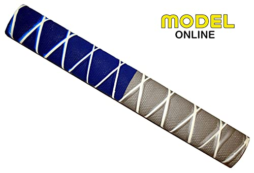 Model Cricket Bat Grip Replacement Rubber Handle Assorted Styles Colour Pack Of 6