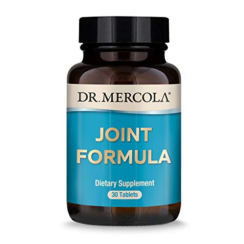 Dr. Mercola  Joint Formula with Eggshell Membrane and Hyaluronic Acid  30 Servings (30 Tablets)  Joint Supplements for Men and Women  Non GMO  Soy Free  Gluten Free
