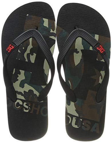 DC Shoes Herren Spray Graffik Sport Sandalen, Schwarz (camo White CMW), 40.5 EU