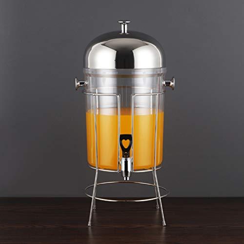 Bucket Yxx@ Dispensador de Bebidas 8 litros, Dispensador de Zumo Máquina de Dispensador de Jugo Botella con Grifo y Soporte
