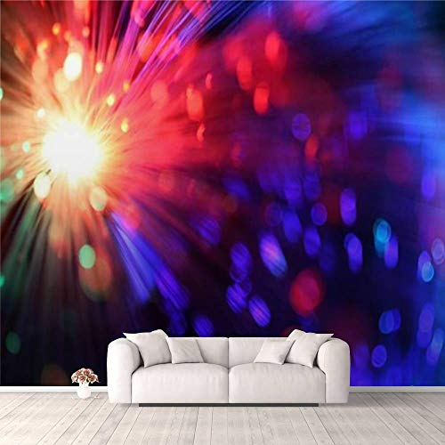 Modern 3D Sparkler Wallpaper Stick and Peel Wall Stickers Removable Wall Paper Mural for Living Room Bedroom TV Background Wall