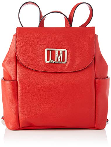 Love Moschino Ss21 Women's Backpack, M Red Size: medium