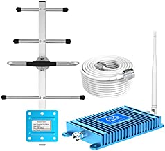 Cell Phone Signal Booster Verizon Compatible Mobile Phone Signal Booster Repeater Band13 700Mhz FDD Boosts 4G LTE Voice and Data for Verizon with Antennas Kit for Home