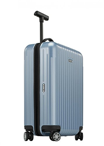 RIMOWA Salsa Air IATA Handgepäck 53,3 cm Kabine Mehrrad 33L TSA Lock Spinner Koffer Ice Blue