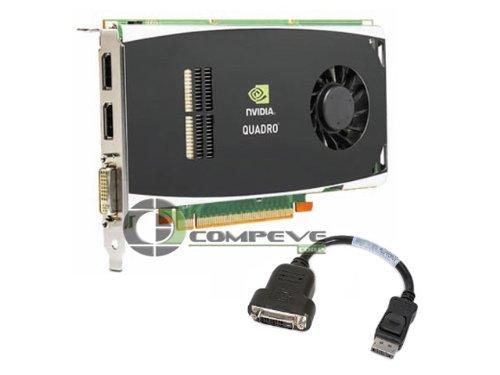 Hewlett Packard nVIDIA Quadro FX1800 Grafikkarte (PCI-e, 768MB GDDR3 Speicher, 1 GPU) Full Retail