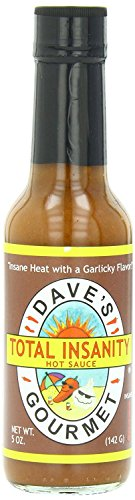 Dave's Gourmet Total Insanity Hot Sauce, 5 Ounces