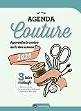 Agenda Couture 2020 - Apprendre à coudre au fil des saisons