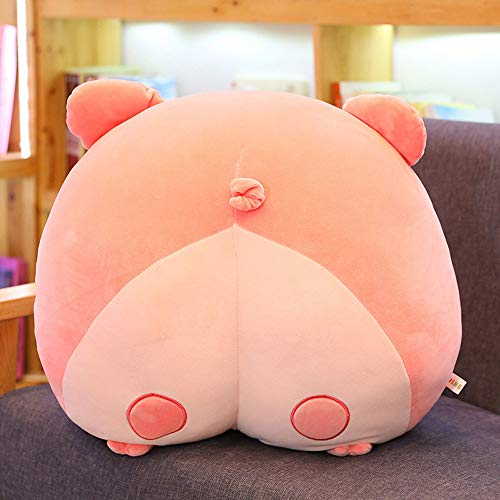 AGOOLZX Creative Cute Cartoon Corgi Shit Cushion Plush Toy Pillow Plush Sofa Car Seat Boy Doll Girl Soft Pillow Girl Birthday Gift