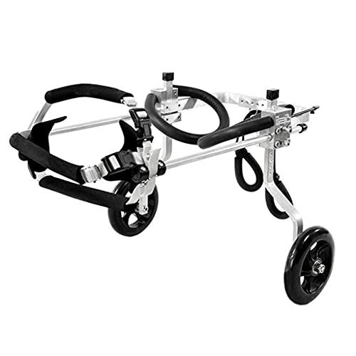 Walkin Wheels, silla de ruedas para perros pequeños para patas traseras, arneses para chaleco para perros, ruedas de ejercicio para animales pequeños, medianas y de primera calidad, rehabilita