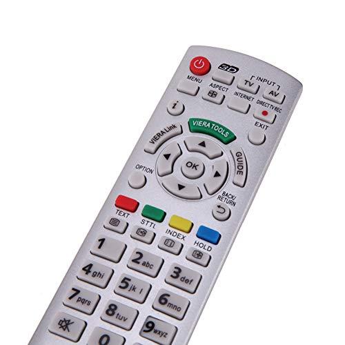 Ersatz Fernbedienung für Panasonic N2QAYB000572 Fernseher TV Remote Control / D1170 / Neu