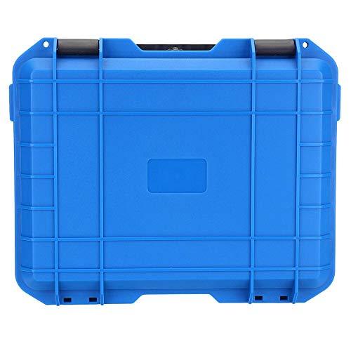 Caja de herramientas resistente al agua y a prueba de golpes duro con caja de almacenamiento de herramientas/portátil aplicable piezas de herramientas almacenamiento