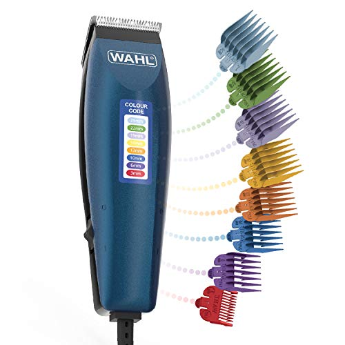 Wahl Hair Clippers for Men, Colour Pro Corded Head Shaver Men's Hair Clippers with...