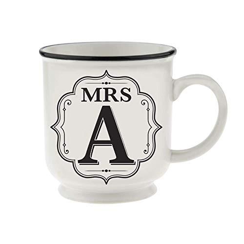 History & Heraldry MR & MRS Becher, MRS A, schwarz-weiß, einzeln