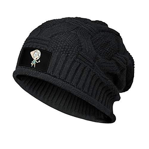 JIOJSDS Woman Men's Steven-Universe-Pearl-Gemstone- Slouchy Beanie Hat Warm Baggy Knit Caps Black Skull Cap