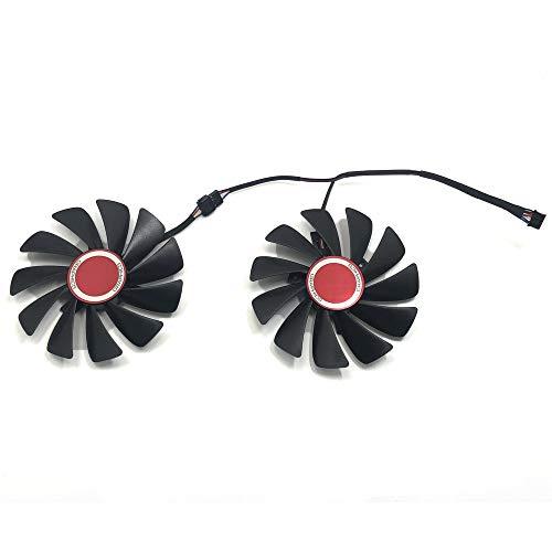 FDC10U12S9-C 95mm Ventilador de Refrigeración de Repuesto Graphics Card Fan para XFX RX 590 Fatboy,RX 580 GTS Graphic Card