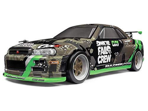 HPI Racing 120101 Micro RS4 Drift Fail Crew Nissan Skyline R34 GT-R