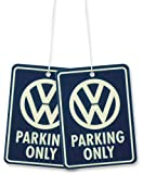BRISA VW Collection Volkswagen Bus T1/T2/T3/T4/T5/T6 Golf Ambientador para Coche,Desodorante del Vehículo, Difusor de Fragancia, Accesorios para automóviles/Regalo (Fresh/Parking Only) - Conjunto de 2