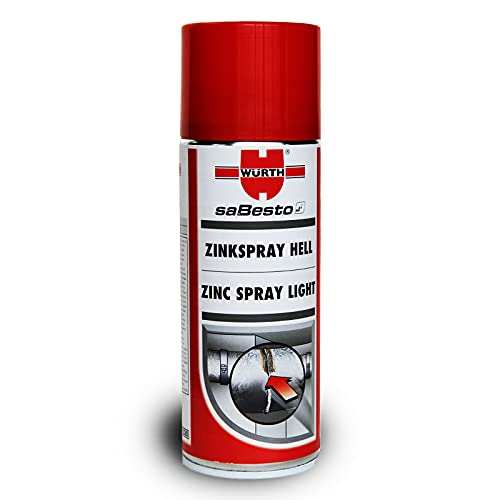 Zinkspray hell 400 ml Würth